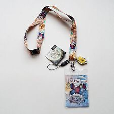 Alice Through the Looking Glass - White Rabbit Lanyard with Dangler 25323