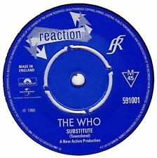 """The Who 1960s Pop 7"""" Singles"""