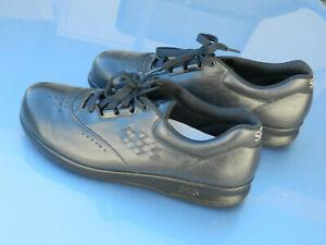 SAS Free Time Tripad Comfort Black Leather Walking Shoes Women's Sz 8s x-narrow