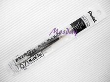 12 x Pentel Energel LR7-A 0.7mm Fine Roller Ball Pen Only Refills, BLACK