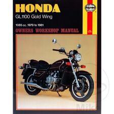 Honda GL 1100 D Goldwing Carenado 1982-1983 Haynes Manual de reparación de servicio 0669