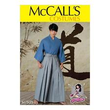 McCALL'S SEWING PATTERN COSTUMES MISSES' MEN'S TEEN BOYS KIMONO WRAP 7525