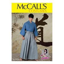 McCall's Sewing Pattern trajes extraña's Para Hombre Teen Boys Kimono abrigo 7525