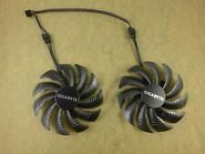 88mm GIGABYTE GTX1070 Windforce Dual Fan GPU Replacement 39mm 4Pin T129215SU