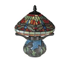 Dale Tiffany Red Dragonfly Tiffany Accent Lamp - 8774