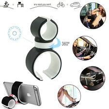 Universal Car Steering Wheel Bike Clip Mount Holder For iPhone Samsung LG GPS US