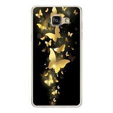 Coque souple pour Samsung Galaxy A5-2016 avec impression Motifs papillons do