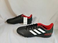 Adidas Men's Predator Tango 18.4 TF Turf Shoes Soccer Cleats MW7 Black Size US:9