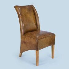 Stuhl Sessel Designer Heidelberg Vintage Echt Leder Nr. 702 Füße Eiche Wildeiche