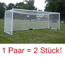 2x Tornetz Fußball Fußballtornetz Tor Netz 3 Größen Auswahl 3,0m 5,5m 7,5m