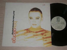 "BOY GEORGE - DON'T TAKE MY MIND ON A TRIP - MAXI-SINGLE 12"" ITALY"