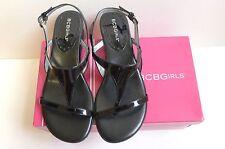 NIB BCBGirls BG-INGRIDS Black Sandals Size 7.5M