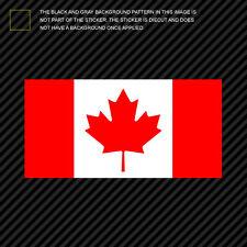"""4"""" Canadian Flag Sticker Die Cut Decal canada"""