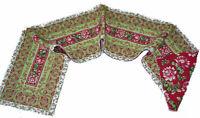Noel Christmas Tapestry Table Runner ~ April Cornell