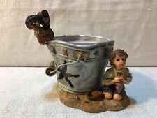 Boyds Yesterdays Child Dollstone Lucinda Dawn By The Sea Votive Figurine 27951