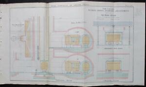 London Tube Station Plan 1905