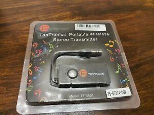 TaoTronics TT-BA01 Wireless Portable Bluetooth Transmitter