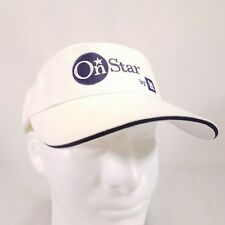 On Star by GM Adjustable white Visor hat Strapback navigation assist Y8