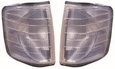para Mercedes Benz 190e 1986-1993 Luces Intermitentes Delanteras Transparentes 1