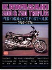 Kawasaki 500 750 Triples Road Test Book 1969-76 H1 H2 Mach III Mach IV *NEW