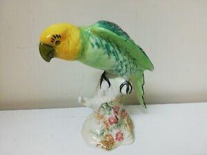 Vintage Beswick Parrot Parakeet No 930 Ornament Figure - English Ceramic Pottery