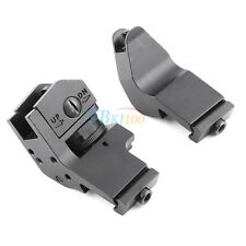 1x 45 Degree Offset Front & Rear Metal Fixed Rapid Transition Iron Sight Mount