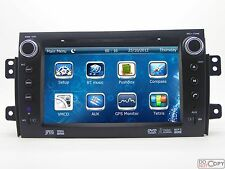 2 DIN Stereo Car CD MP3 Radio DVD Player GPS Navigation For Suzuki SX4 2006-2012