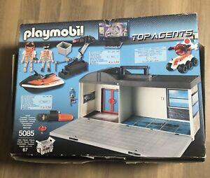 Playmobil 5085 Mitnehm-Agentenhauptquartier