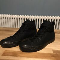 Converse High Top: Special Edition Black-Out Converse Chuck Taylor All Star UK 9