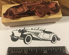 1939 Mercedes 540 K roadster RUBBER STAMP classic big powerful sports car!