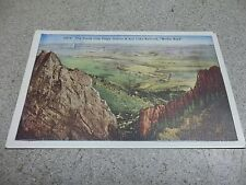 Postcard 15714 The Plains from Crags Denver & Salt Lake Railroad Muffat Road