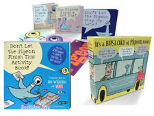 Don't Let the Pigeon Drive the Bus Box Set & Activity Book by Mo Willems