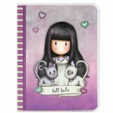 Santoro Gorjuss A6 Frosted PVC Cover Notebook Tall Tails