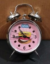 Hand Winding Java Alarm Clock Ding a Ling By Urban Station