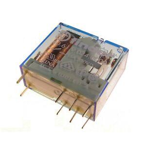 Finder 40.61.9.024.0000 Relais 24V DC 1xUM 16A 250V AC Relay Steck Print 069555