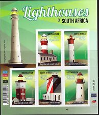 South Africa 2014 Lighthouses sheetlet of 5