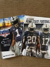 2017 Penn State Football Yearbook & 2017 Fiesta Bowl Media Guide Saquon Barkley