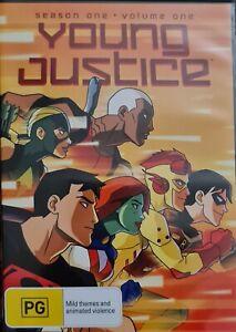 Young Justice : Season 1 : Vol 1 (DVD, 2012)