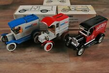 BUNDLE OF 3 ERTL Truck COIN Banks 1:25 Diecast  1/2 TON - MODEL T - DELIVERY TR