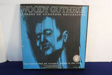 Woody Guthrie, Library Of Congress Recordings, EKL 271/272,Booklet,3 LPs BOX SET