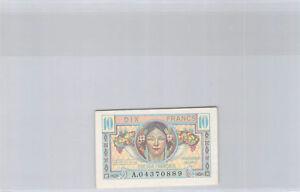 Trésor Français 10 Francs (1947) n° A04370889