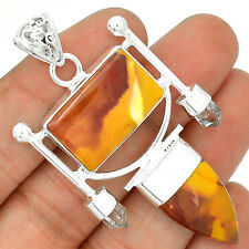 Mookaite 925 Sterling Silver Pendant Jewelry SP203154