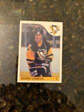 1985-86 Topps Hockey #9 MARIO LEMIEUX ROOKIE......NM-MT