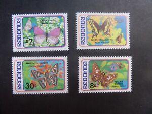 Redonda 1982 Butterflies Butterfly MNH UM unmounted mint