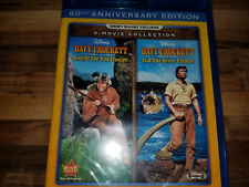 Davy Crockett and the River Pirates & King of the Wild Frontier, Blu-Ray New..