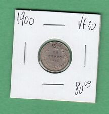 1900 Canada 10 Cent Coin - VF-30