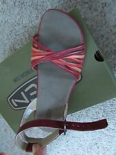 NEW KEEN EMERALD CITY STRAPPY SANDALS WOMENS 9.5 HENNA/MELON  LEATHER FREE SHIP