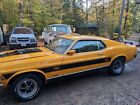 1970 Ford Mustang  1970 Ford Mustang Yellow RWD Automatic