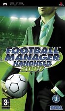 FOOTBALL MANAGER  HANDHELD     2007   -----   pour PSP