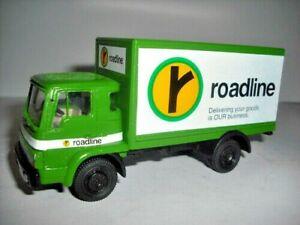 Promod Built Models Bedford AWD TL Box Van Roadline